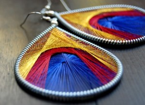 This Time About Peruvian Thread Earrings