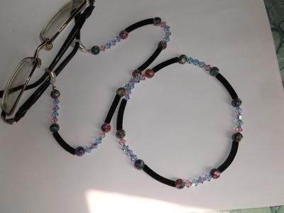 Midnight Eyeglass Holder Chain